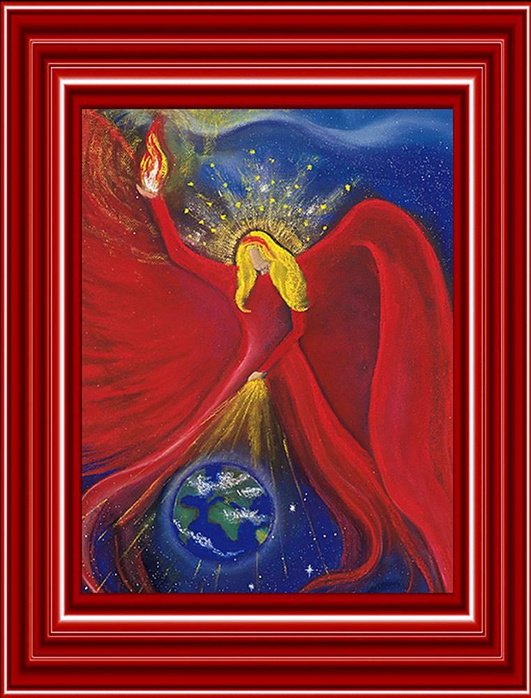 Engelbild Erzengel Uriel von Gabriel Diana Bode